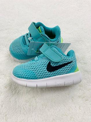 Mint Nike Free RN Velco Sneakers