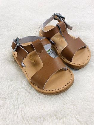 Camel Freshly Pinked Hard Sole Sandals