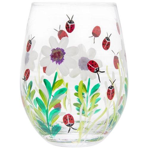Ladybirds Stemless Glass