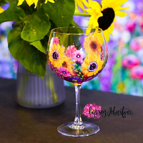 Personalised Bespoke Gin Glass Design