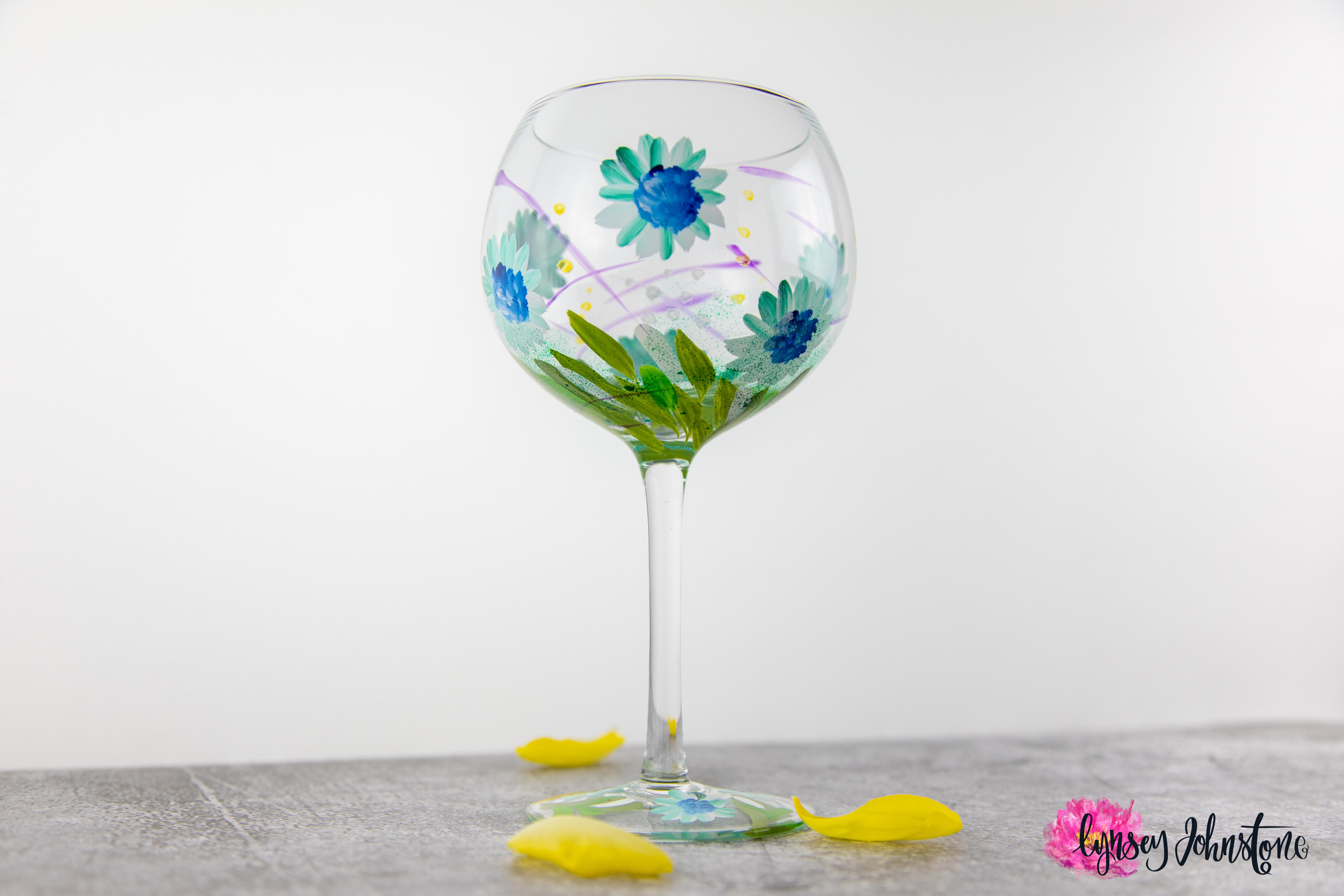 Blue Gerberas