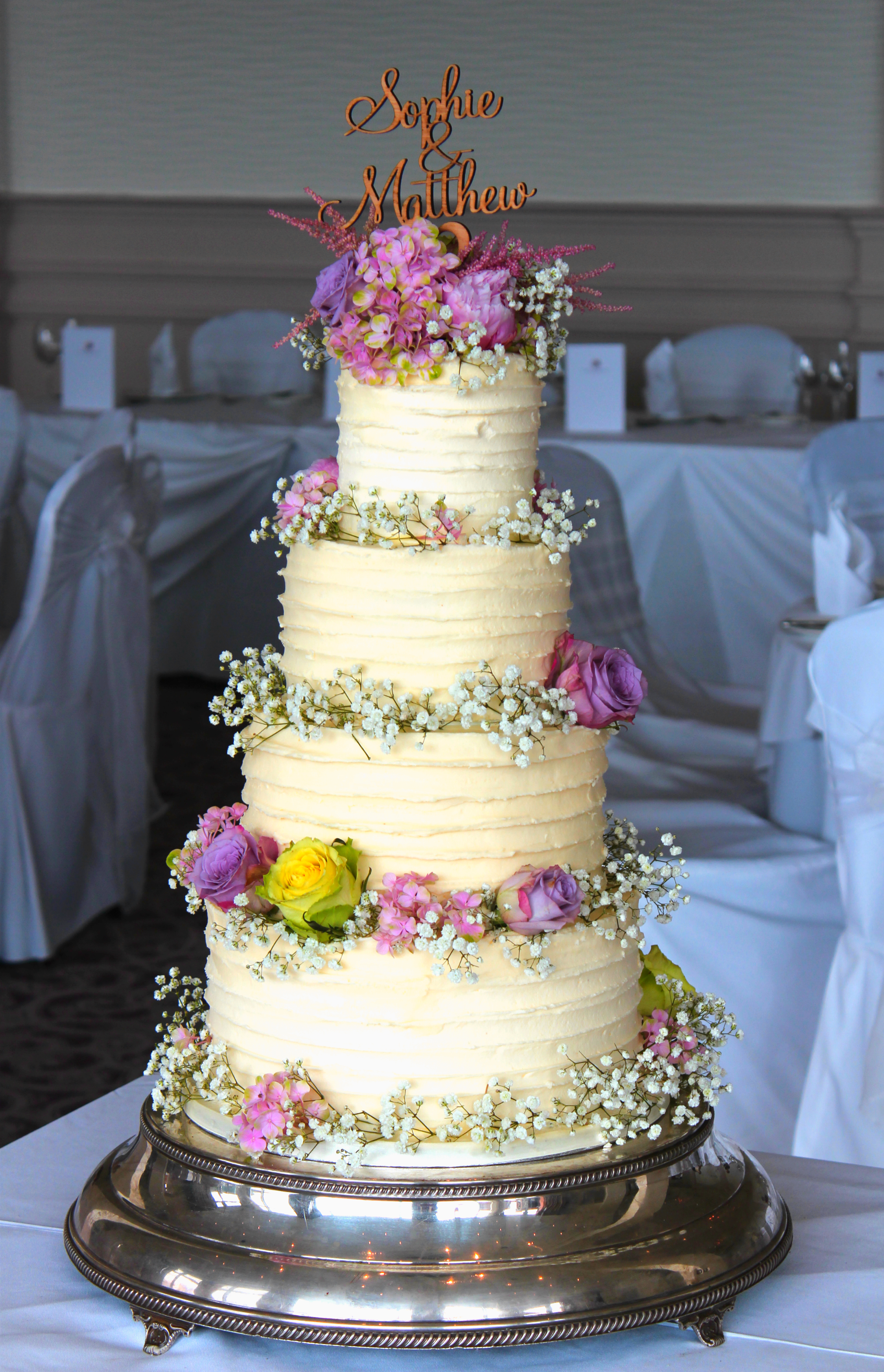 Buttercream 4 tier