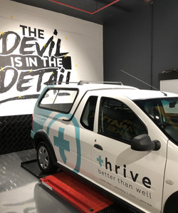 Thrive - Vehicle Branding