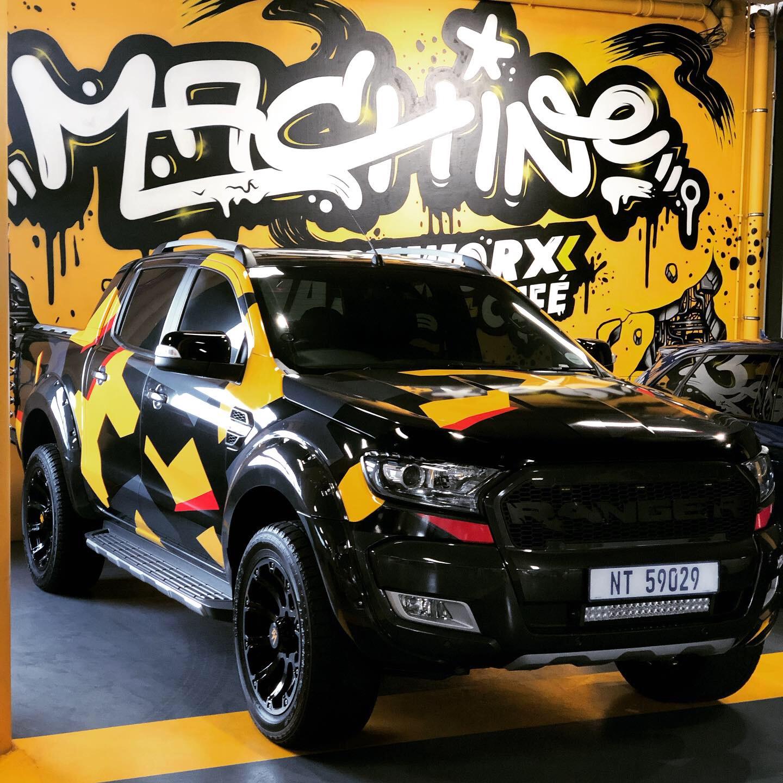 Machine - Vehicle Branding
