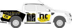 North Coast Skip - Vehicle Branding