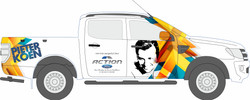 Pieter Koen - Vehicle Branding