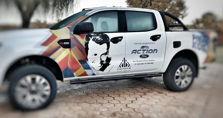 Pieter Koen - Vehicle Branding