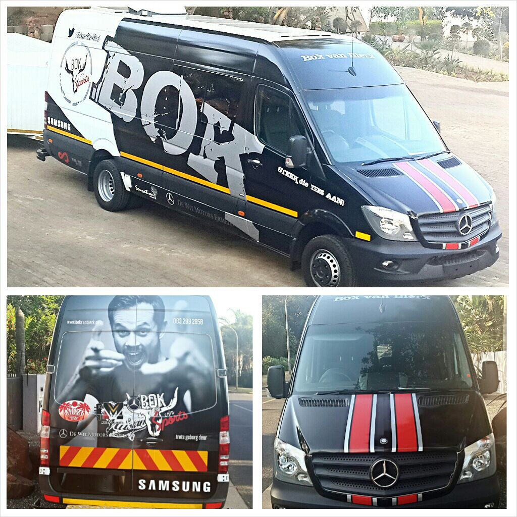 Bok van Blerk - Vehicle Branding