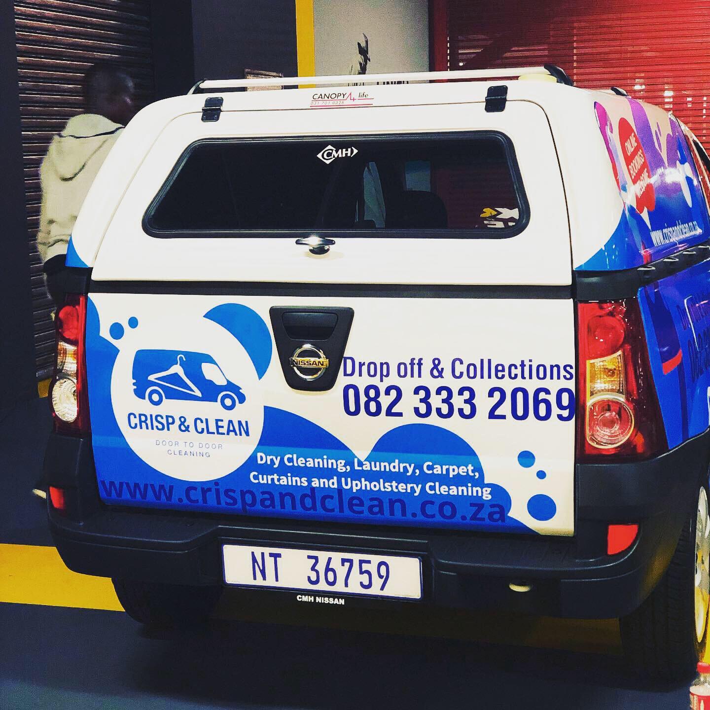 Crisp & Clean - Vehicle Branding