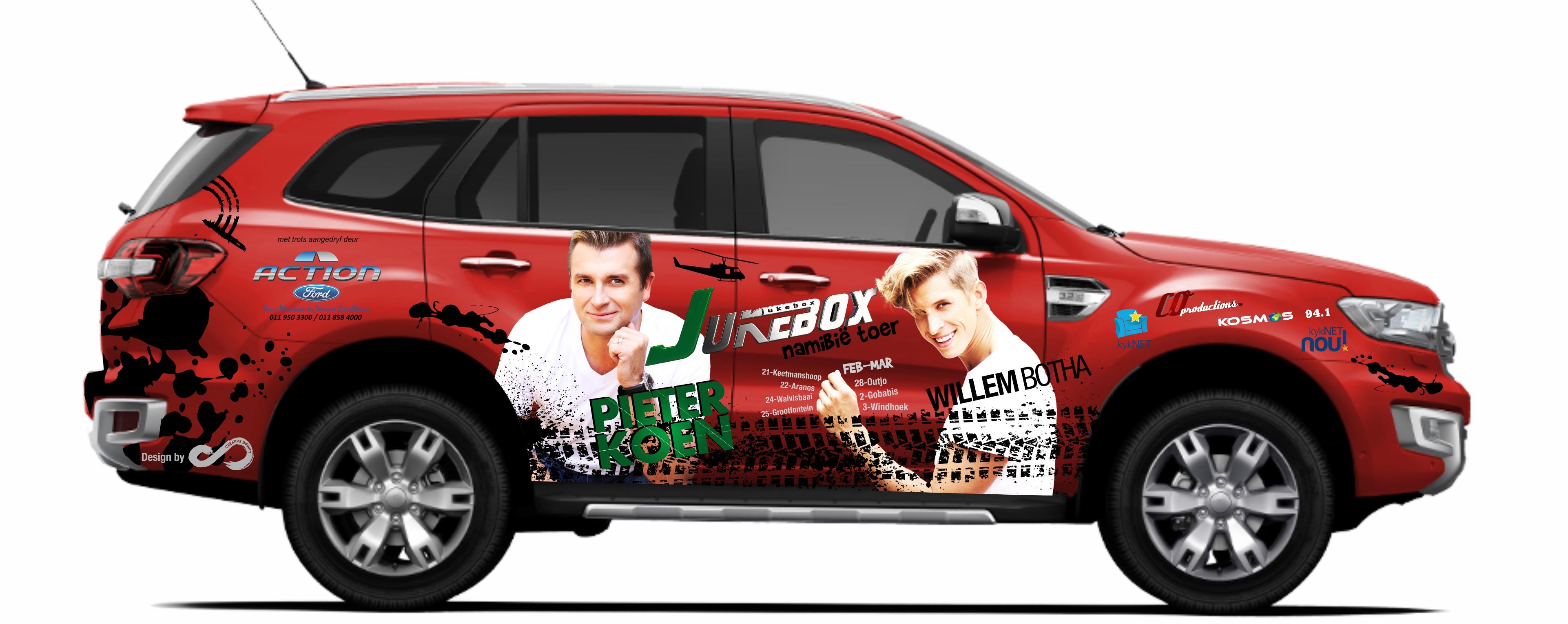Willem Botha - Vehicle Branding