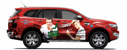 Willem Botha - Vehicle Branding