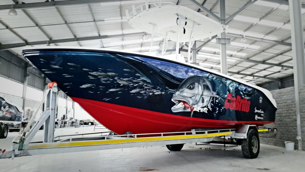 Bok van Blerk - Boat Wrap