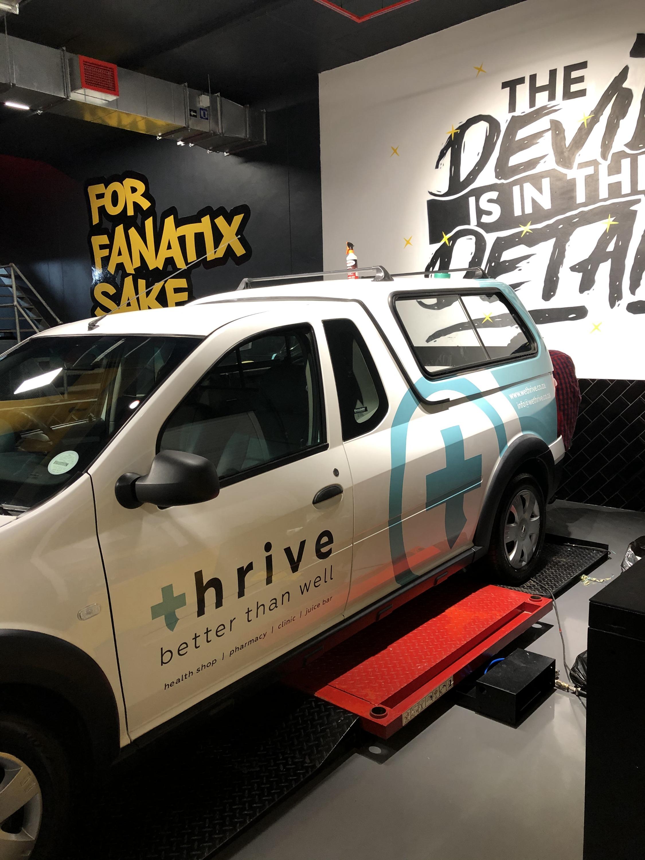 Thrive - Vehicle Branding