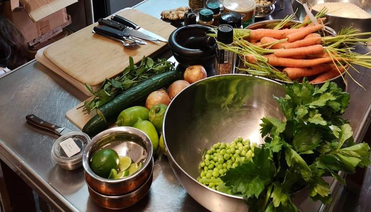 Atelier cuisine ayurvedique