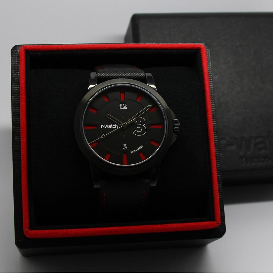 r-watch modèle 3 couleurs rouge