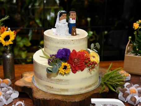 Como calcular o tamanho do Bolo de Casamento para sua festa