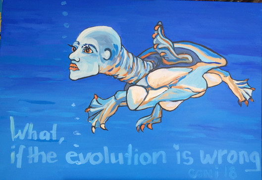 What if the evolution goes wrong