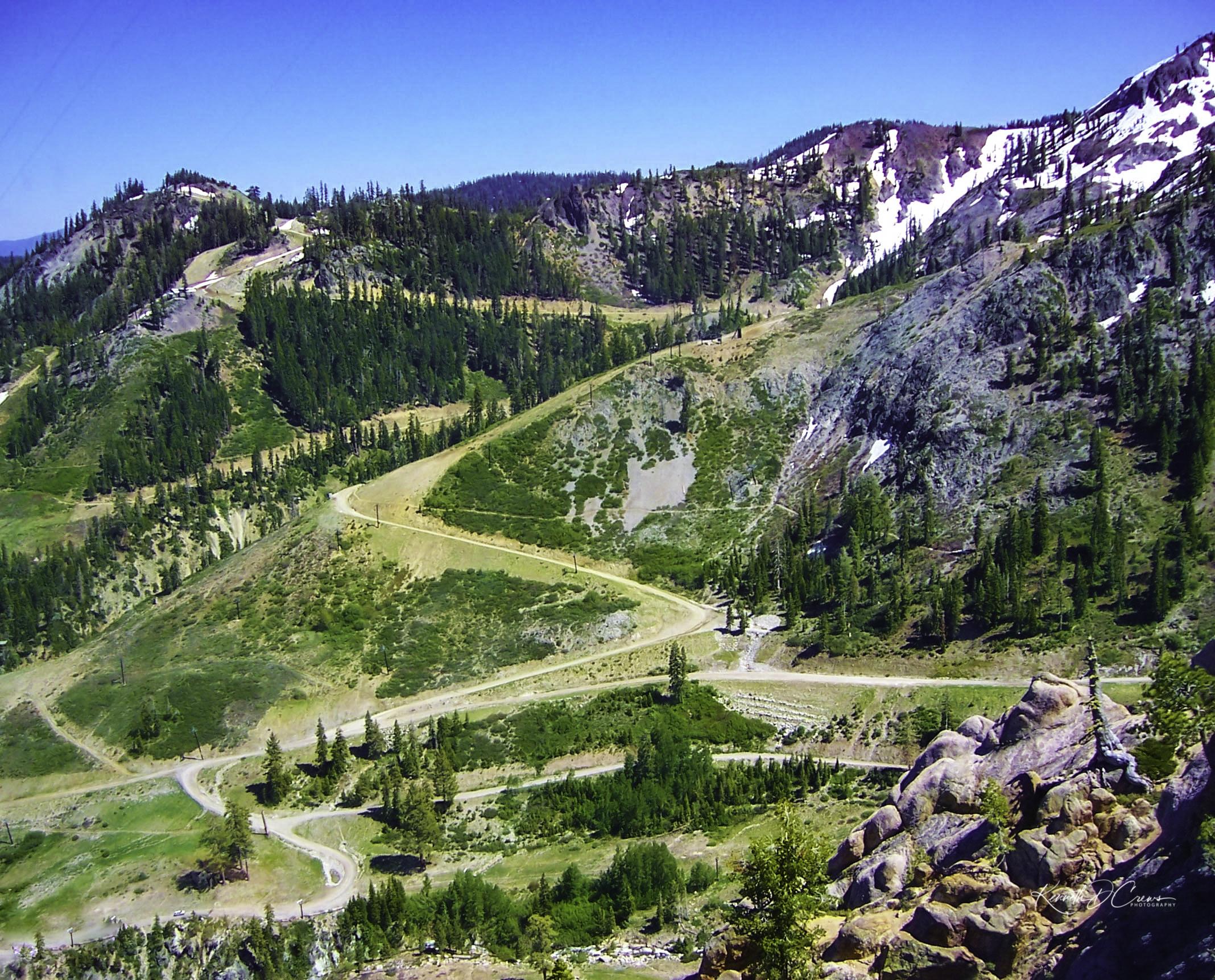 Winding road - Lake Tahoe NV-1-1-1