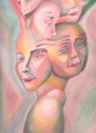 Multi-Self Portrait
