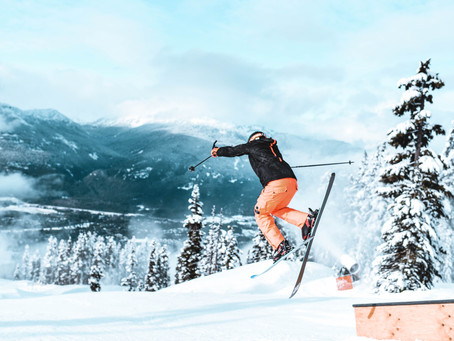 Skiing is the next best thing to having wings!