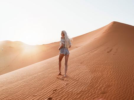 Moonrise at Sahara