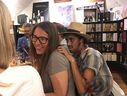 theater & wine tasting