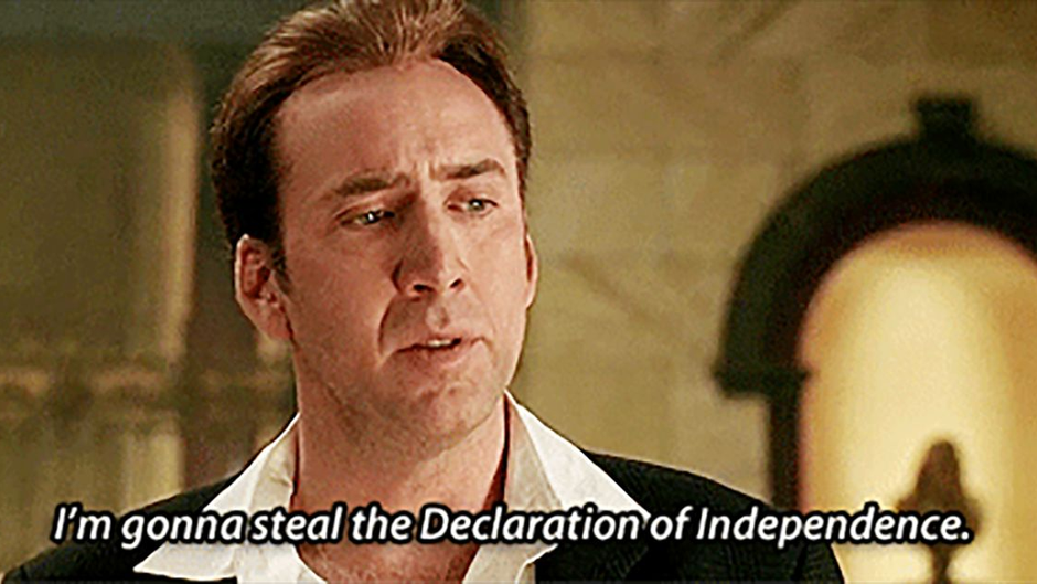 Summer of Cage: National Treasure