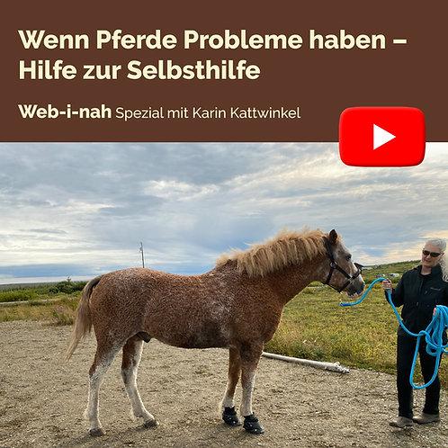 """Modul 2: """"Wenn Pferde Probleme haben – Hilfe zur Selbsthilfe"""""""