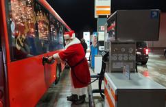 #Weihnachtsbus