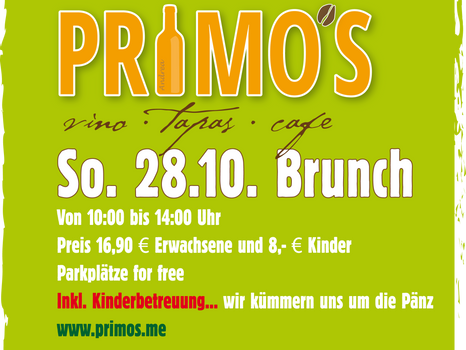 FAMILY BRUNCH IM OKTOBER