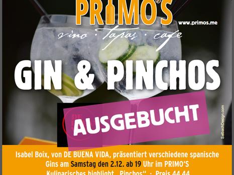 GIN & PINCHOS - AUSGEBUCHT