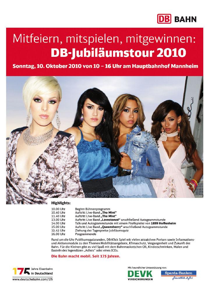 DB Jubilämustour 2010