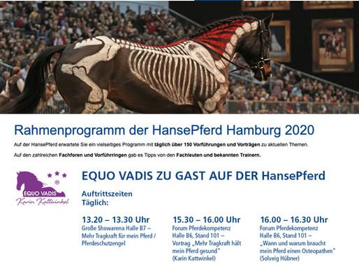 EQUO VADIS ZU GAST AUF DER HansePferd 24. - 26. April