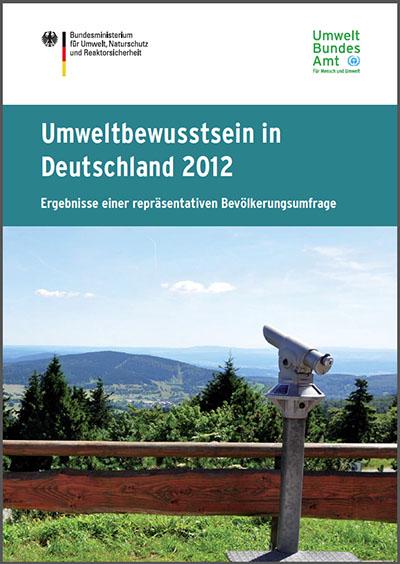 Umweltbewustsein in Deutschland 2012