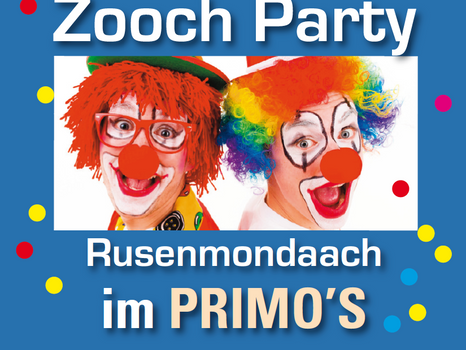 AFTER ZOOOCH PARTY am Rosenmontag in Geistingen