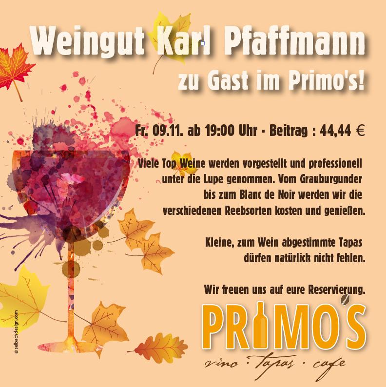 Weintest im Primo's