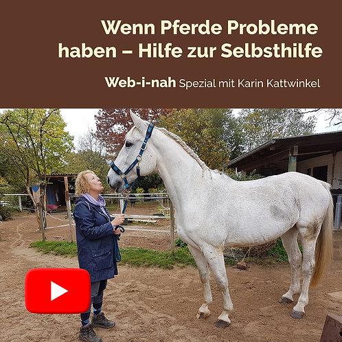 """Modul 8: """"Wenn Pferde Probleme haben – Hilfe zur Selbsthilfe"""""""