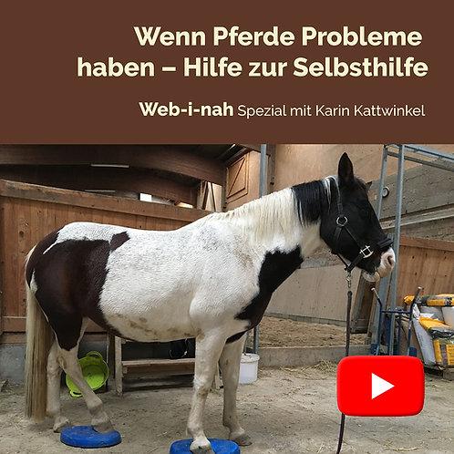 """Modul 5: """"Wenn Pferde Probleme haben – Hilfe zur Selbsthilfe"""""""