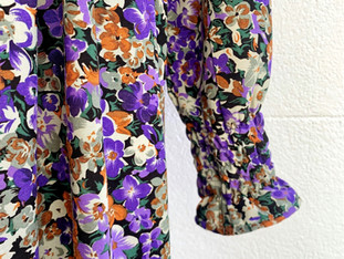 Nova Gown in new floral fabric