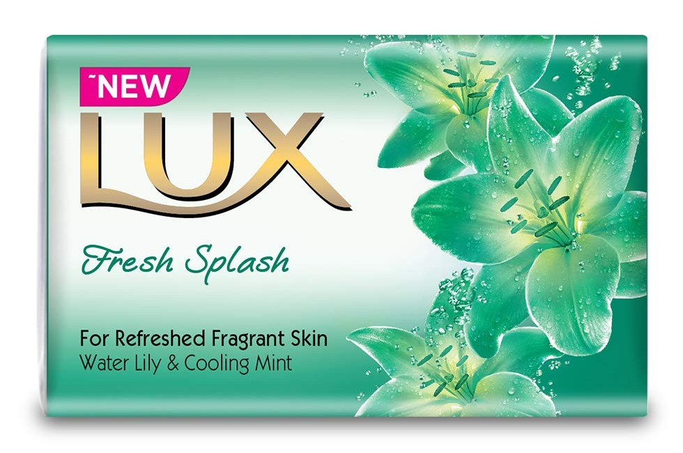 Lux soap in a wrapper