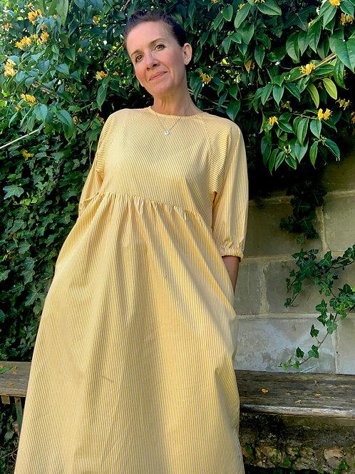 New Yellows Cotton Kay Dress