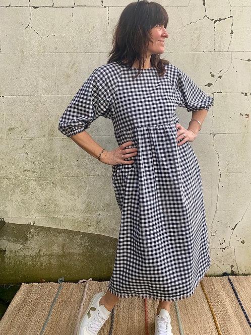 Kay Dress - classic gingham