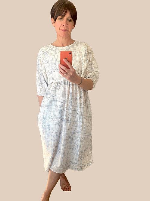 Lay Lines Cotton Kay Dress