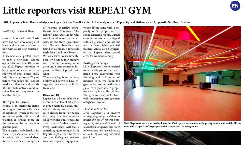 Repeat Gym