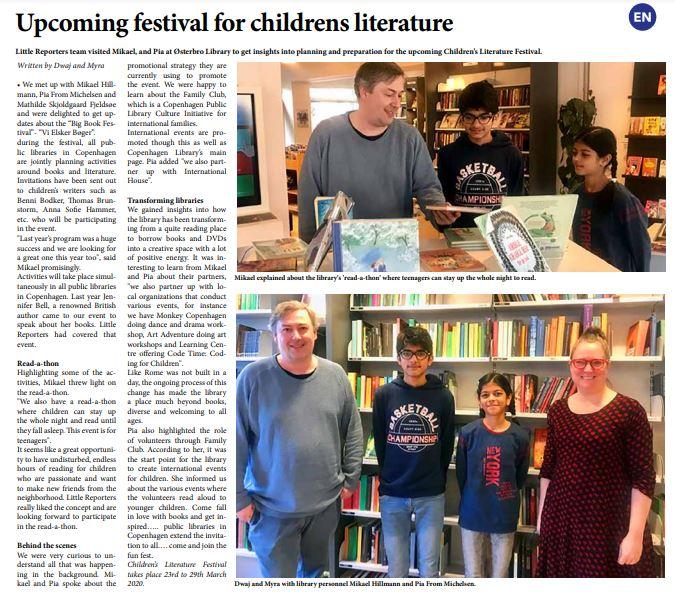 Children Literature Festival