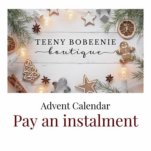 Advent Calendar - Pay an instalment