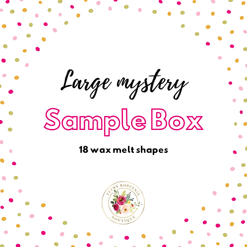 Large Mystery Sample Box