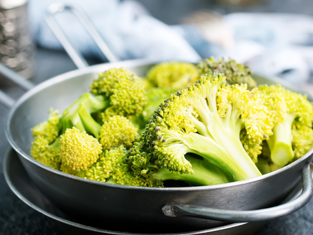 Broccoli with Dijon Vinaigrette