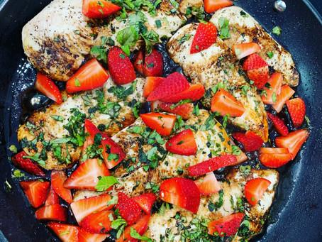 Balsamic Strawberry Chicken
