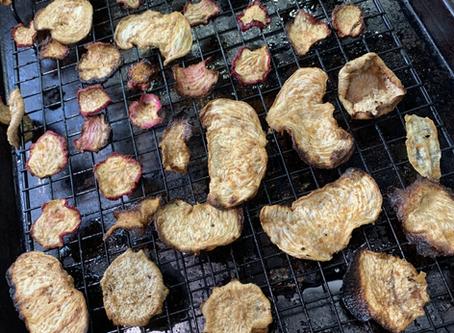 Turnip & Radish Chips